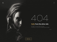 404 Page - Adele