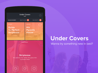 UnderCovers - Mobile App