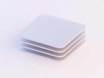 New Primitives portfolio modern blender b3d isometric primitives 3d