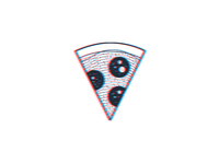 Anaglyph Pizza