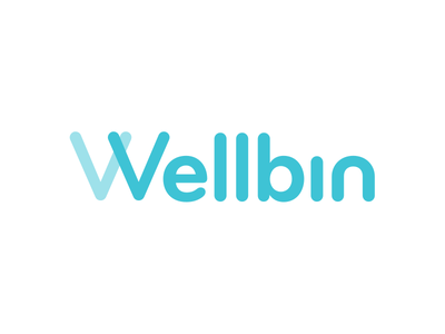 Wellbin wellbin health logo branding