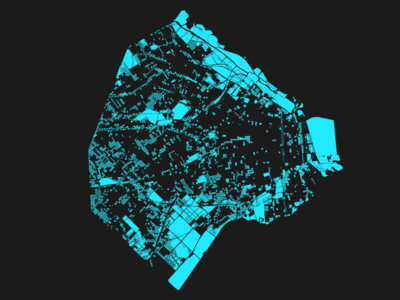 Buenos Aires, atypical blocks modular open data d3.js