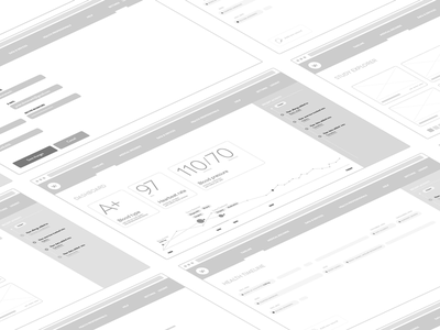 Wellbin first wireframes healthcare health wireframes