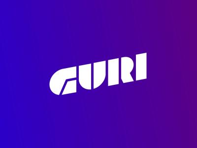 Guri VR logo branding