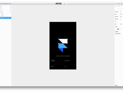 Framer Path Animation gif coffeescript svg framerjs framer