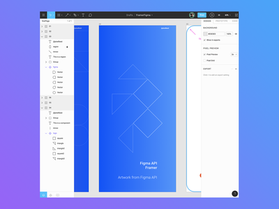 Figma API in Framer gif framerjs prototype api framer figma