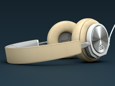Bang & Olufsen – BeoPlay H6 Headphones 3d product 3d product render 3d render
