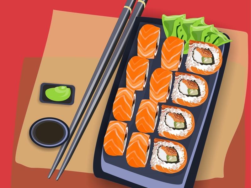 rolls дизайн полиграфия illustration