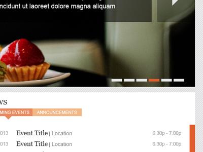Website UI ui ux site web navigation selector texture