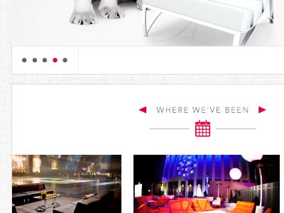 Events Site Re-Design