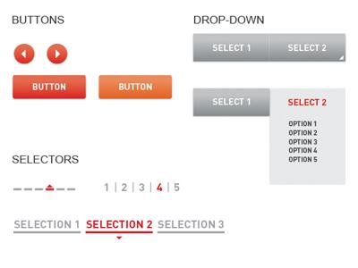Style Tiles | UI Samples style tiles ui web button dimension