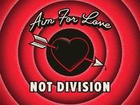 Aim for Love Illustration