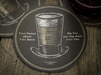Event Announcement Beer Coaster