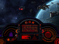Spaceship UI for Infinite Black Theatrical Trailer