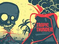 Tropic Thunder Fireworks Packaging