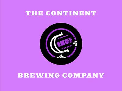 The Continent Brewing Co Branding branding design logodesign logo beer label branding concept beer branding typography branding and identity branding