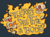 Fire In My Bones Illustration