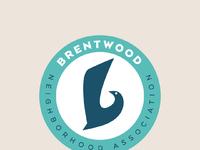 Brentwood neighborhood logo mindprizm