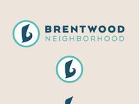 Brentwood neighborhood logo detail mindprizm