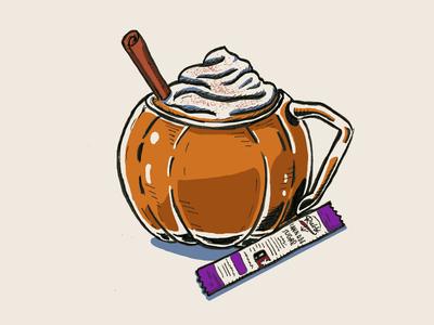 Ruby Pumpkin Spice Latte