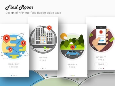 Property App app sketch illustration ios page guide