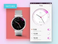 Watch And Interface app