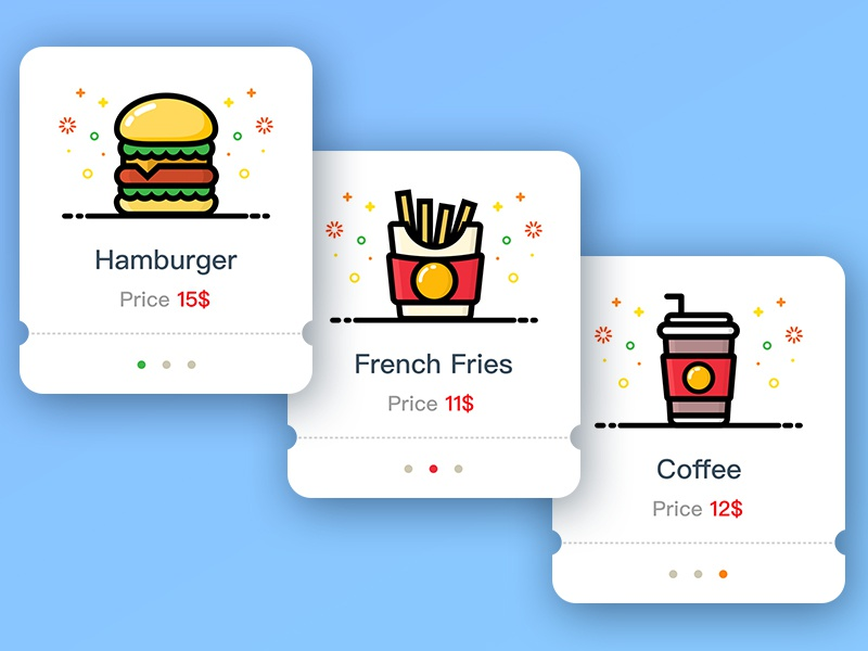 Mcdonald Illustration Guide room order mcdonalds ios food delicious app