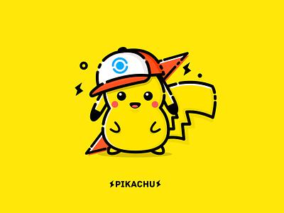 Pikachu illustration go pokemon pikachu