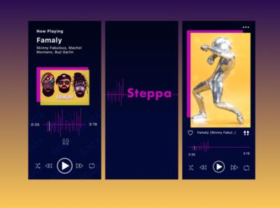 Steppa Music Player