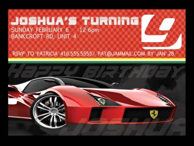 Ferrari Invitation Colour  1