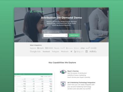Attribution Landing Page
