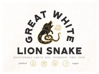 Great White Lion Snake