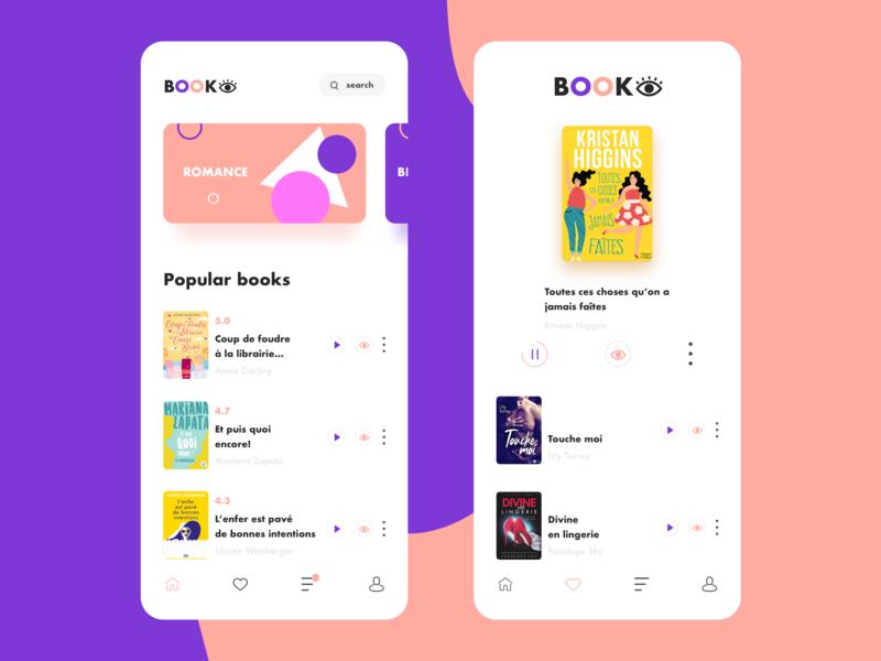Ebook App Design By Nizar Chikhaoui On Dribbble