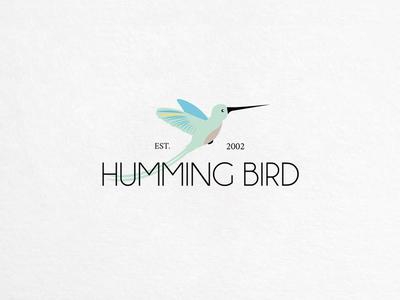 Humming Bird Logo Template  $27.00
