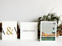 Identity design for decor & lifestyle brand