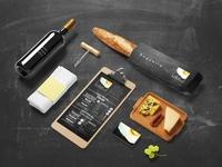 Branding & Print Design for Breakfast Cafe