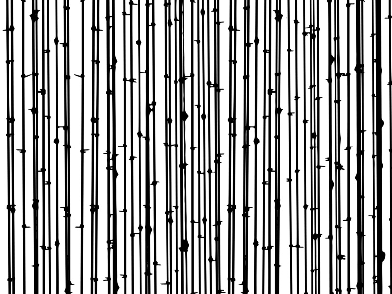 Distraction white black lines modern monochromatic minimal simple hand drawn random geometric fence lines abstract black and white pattern graphic design