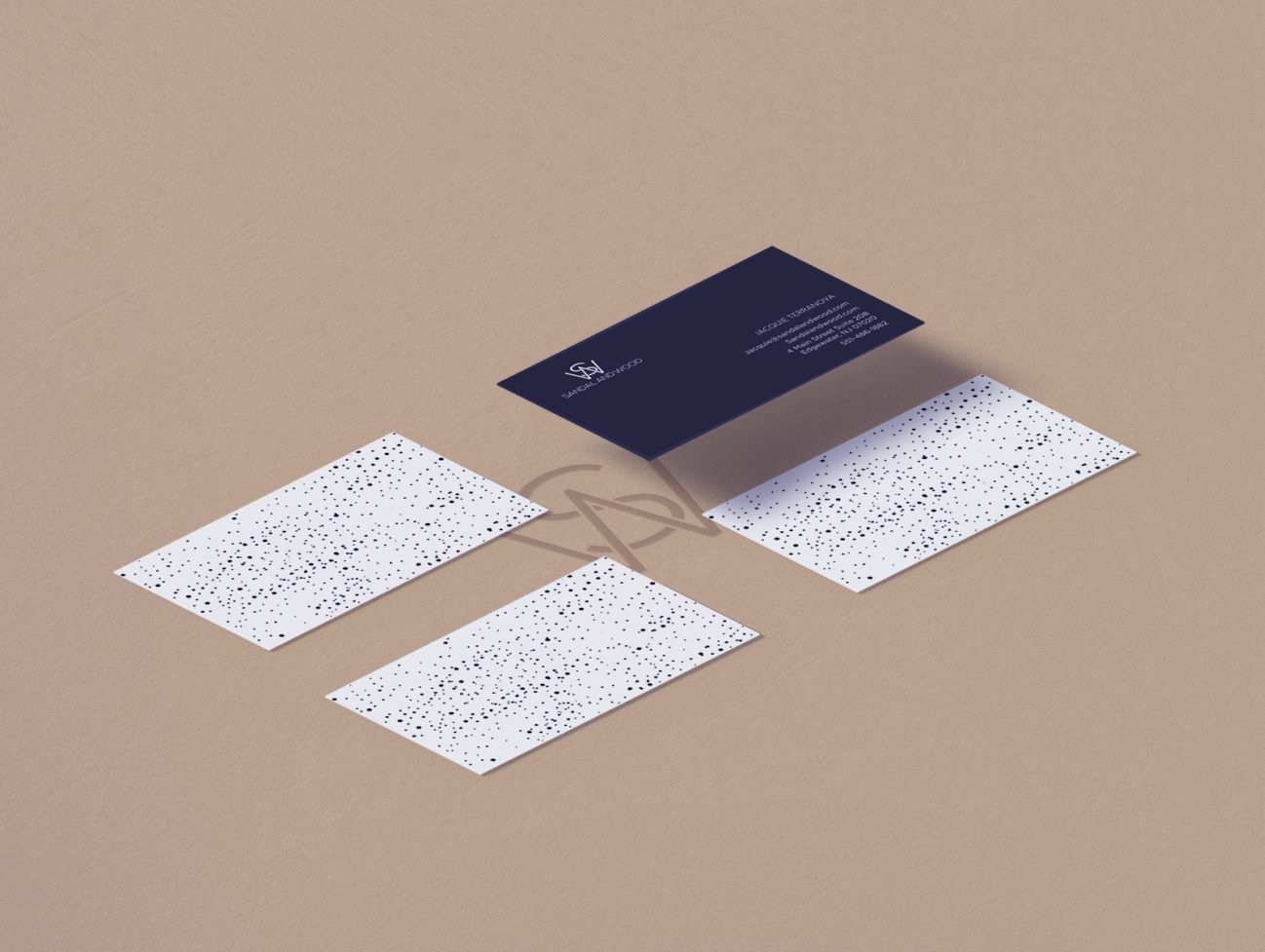 Branding & Web Design for Sandal & Wood business card typography logo design identity digital logo illustration branding