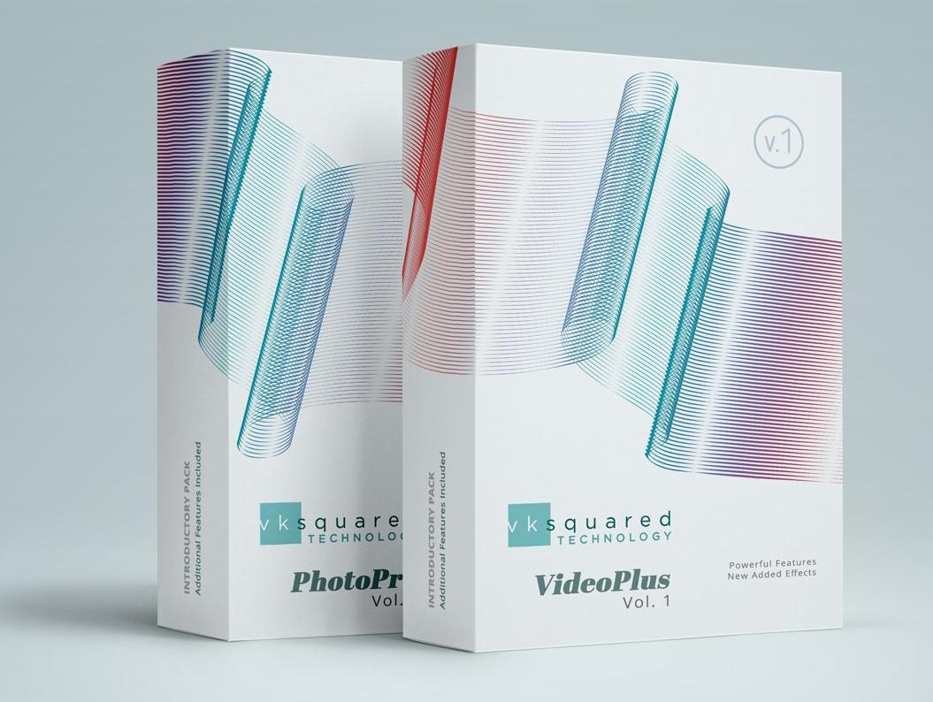 Branding & Print for VK Squared business card typography identity digital logo design illustration branding