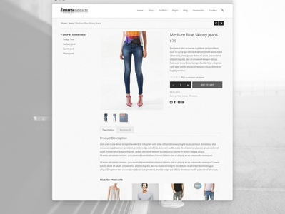 Web Design for Mirror Addicts