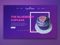 Cupcake Site UI