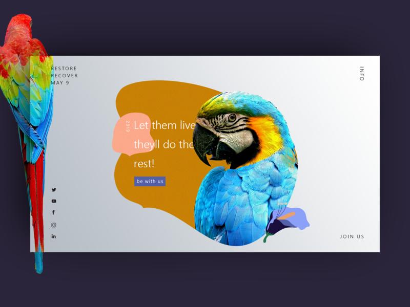Campaign campaign design app minimal vector illustration branding identity type flat ux uiux ui website web modern design creative