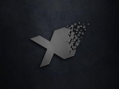 Pixel Graphic Studio Logo V2