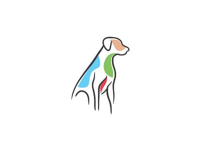 Dog Logo illustration dogs clinic veterinary pet dog animal
