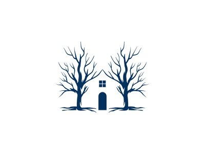 Home Branch Logo forest plant tree door house branch home