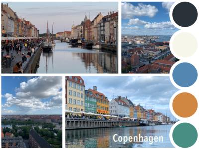 Traveling Mood Board - Copenhagen