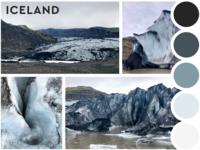 Traveling Mood Board - Iceland