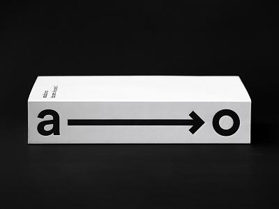 estúdio arco — monograph book monograph cover editorial book design studio type print logo typography graphic  design design branding design branding black  white