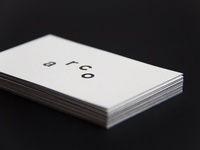 estúdio arco — business cards