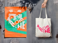 arouche — poster & tote bag